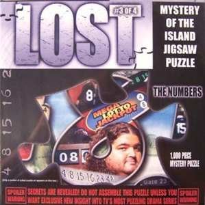 (Lost the Numbers Mystery of the Island 1000 Piece Jigsaw Puzzle)