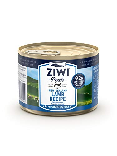 Ziwi Peak Canned Lamb Recipe Cat Food (Case of 12, 6.5...