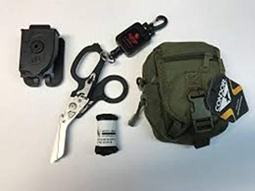 Spec Operator Trauma Medic Raptor EMT Shears and Leash Kit w/Condor Molle Pouch (Black)