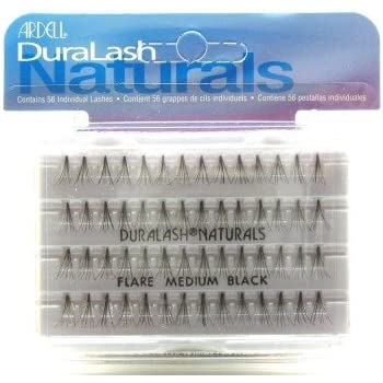 b2fd8fb09f0 Ardell Duralash Naturals Flares Knot-free Medium Black (56 Lashes) (Case of