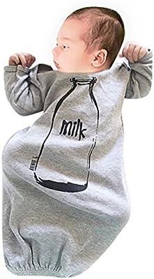 Domybest Niños Ropa Recién Nacido Bebé Saco de Dormir la Imagen de Botella de Leche: Amazon.es: Bebé