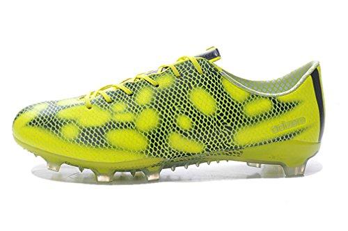 Generic hombre F50Adizero FG zapatos de amarillo de balón de fútbol