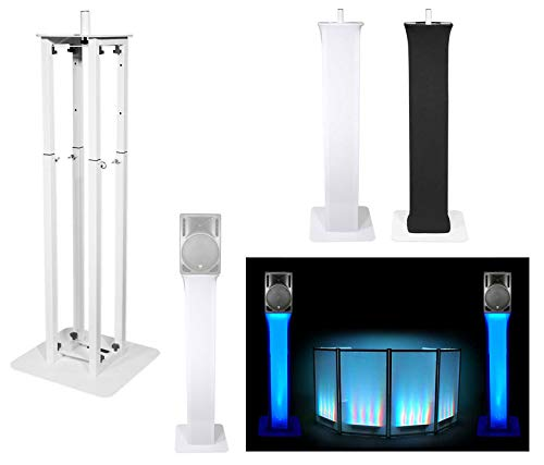 - (1) Rockville White Adjustable Totem Stand For Gemini RS-415 15