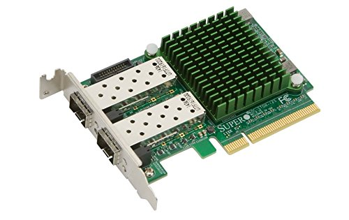 Supermicro The Ultimate Dual-Port 10 Gigabit Ethernet Controller with The Flexibility and S (AOC-STGN-I2S) by Supermicro (Image #1)