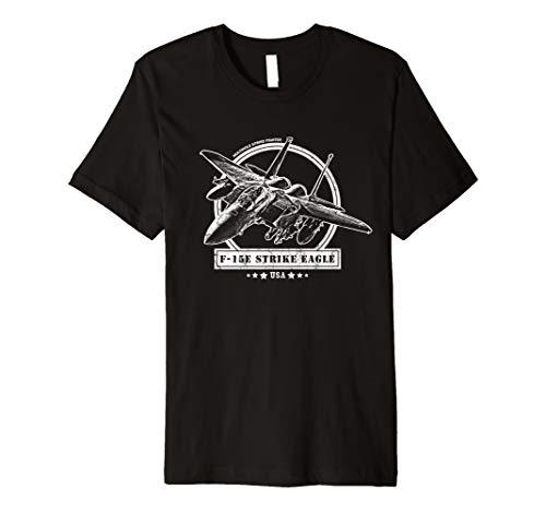 - F-15E Strike Eagle Fighter Aircraft T-Shirt