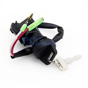 3z ignition key switch ks45 kawasaki klf300. Black Bedroom Furniture Sets. Home Design Ideas