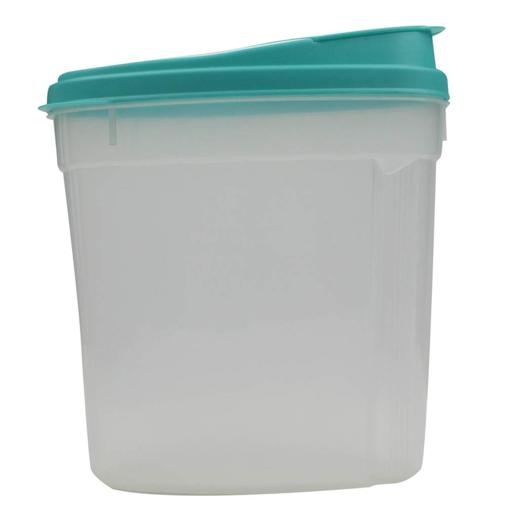 6.5 CUPS Airtight Dry Food Grain Flour Keeper Sealed Tank Storage Container with Lid Flap