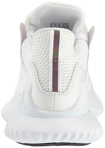 adidas Men's Alphabounce Beyond Running Shoe white/Silver Metallic/White, 7.5 M US by adidas (Image #2)