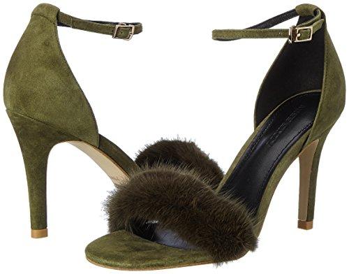 Sintético Material Sixty Para De army Green Miss Zela Zapatos Verde Mujer Vestir WqfnwqYZ4