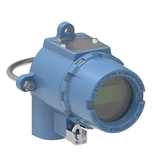 Rosemount 644HAI5J2M5 Temperature Transmitter, DIN A Head Mount, Single Sensor, 4–20 mA with HART Protocol, Aluminum Housing, 3 entry, 1/2-14NPT