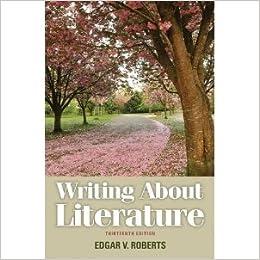 roberts, writing about literature