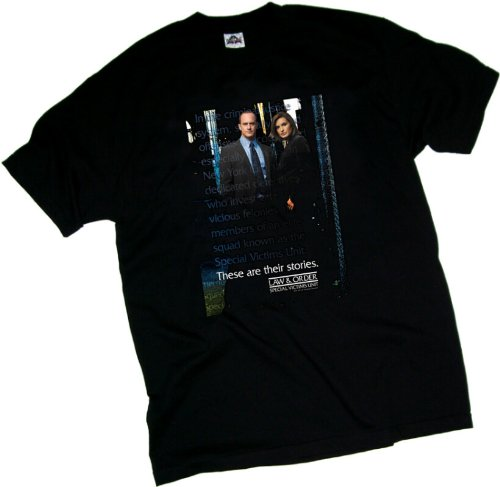 Price comparison product image SVU -- Law & Order Special Victims Unit Youth T-Shirt, Youth Medium