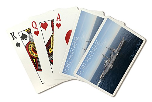 Port Hueneme, California - USS Paul F. Foster Photograph (Playing Card Deck - 52 Card Poker Size with ()