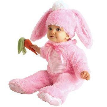 [Rubie's 6-12 months baby girls rabbit costume] (Baby Costumes For Girls)