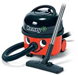 Numatic Hi-Power 2 Stage Proffessional Canister Vacuum Cleaner with Autosave Technology, Includes A1 Accessory Kit (HVR200A HENRY) - RED