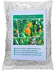 CALIDAKA حديقة شبكة مرنة مرنة دعم نبات كرمة شبكة تسلق حديقة شبكي شبكي ، شبكة حديقة حديقة توفر حماية أفضل لأشجار الخضروات الفاكهة 5 × 15 قدم 5 × 30 قدم 5 × 60 قدم