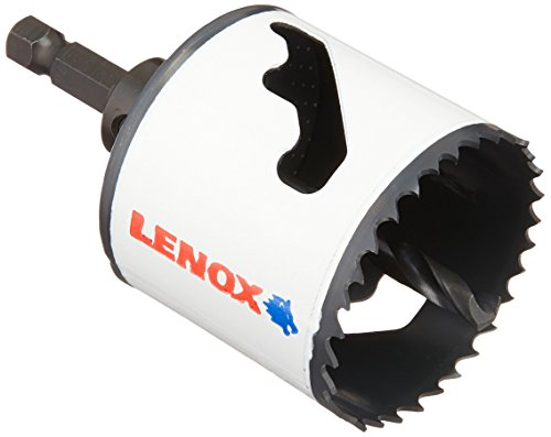 (LENOX Tools Bi-Metal Speed Slot Arbored Hole Saw with T3 Technology, 2-1/8