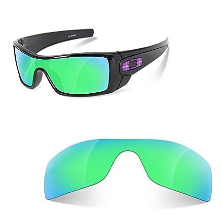 Sunglasses Restorer Lentes de Recambio Polarizadas Verde Zafiro para Oakley Batwolf: Amazon.es: Deportes y aire libre