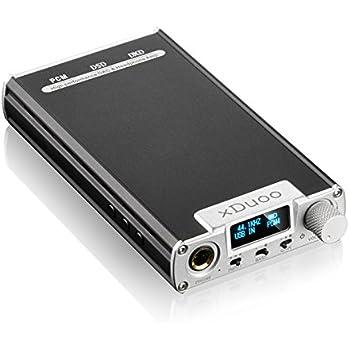 xDuoo XD-05 32bit/384KHz DSD DAC Portable Audio Headphone Amplifier (Silver)