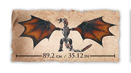 Mega Brands GKG97 Game of Thrones: Daenerys and Drogon - Mega Construx, Multi Color 12