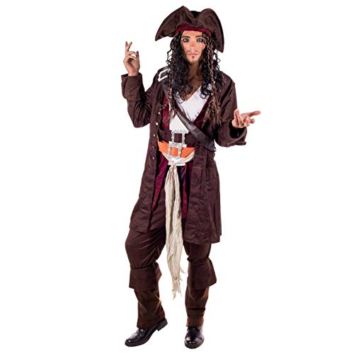 Fun Shack Mens Pirate Costumes Adults Caribbean Pirates Captain Hat Suits Outfits - http://coolthings.us
