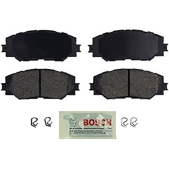 Front Rear Ceramic Discs Brake Pads For 2008-15 Toyota Camry Avalon Lexus ES350