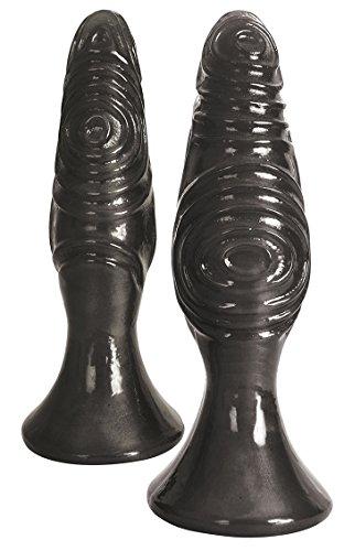 Royal Hiney 2-Piece Butt Plugs Pro Set, Gunmetal