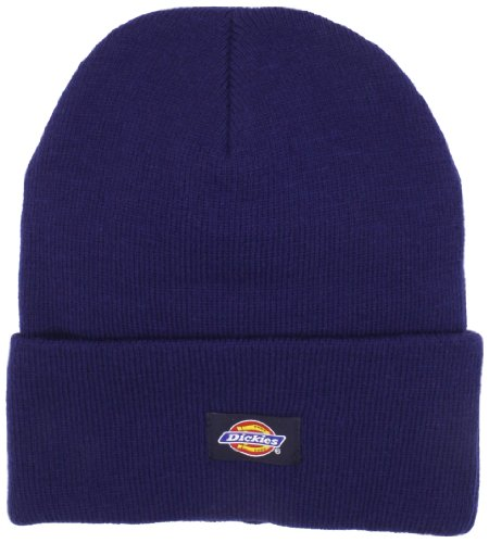 (Dickies Men's 14 Inch Cuffed Knit Beanie Hat, Navy, One Size)