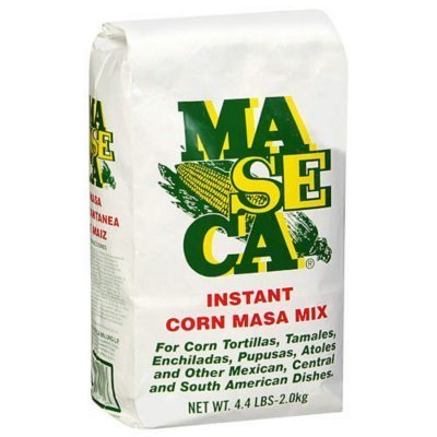 Maseca Corn Masa Mix, 4.4-Pound Package (Pack of 5) by MASECA