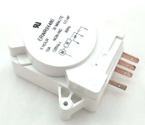 Defrost Timer for General Electric, Hotpoint, WR9X330, - Refrigerator Timer Control Defrost Ge