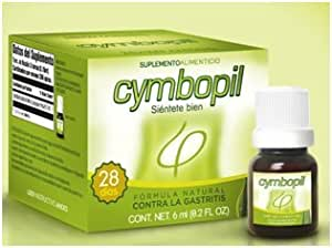 Cymbopil 100% Natural - 1 Drop - Fights the Helicobacter Pylori Bacteria and the Chronic Gastritis.