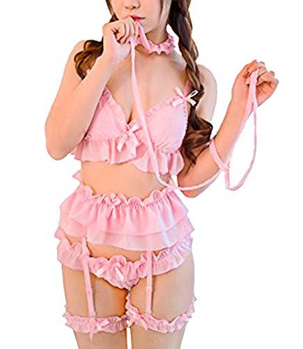 shopping Nuisette Babydolls Rose Femme 365 Z6wgqg