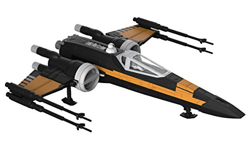 Revell Build and Play Star Wars: The Last Jedi Poe's Boosted X-wing Fighter ()