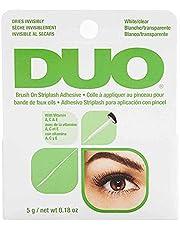 ARDELL DUO Brush lijm met vitamine A, C en E, transparante wimperlijm, extra sterke wimperlijm voor je wimperverlenging, het origineel, waterdicht (5 g)
