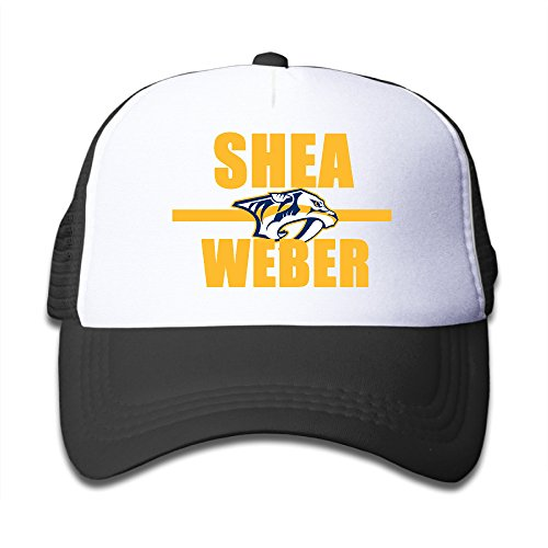 Bro-Custom Shea Hockey Player Weber Child's Baseball Hat Caps One Size Fit All Black