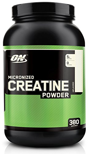 Optimum Nutrition Micronized Creatine Powder, Unflavored, 4.4 Pound