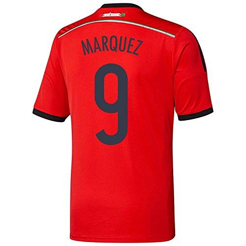 倉庫病気だと思うハウジングAdidas MARQUEZ #9 Mexico Away Jersey World Cup 2014 YOUTH./サッカーユニフォーム メキシコ アウェイ用 ワールドカップ2014 背番号9 マルケス ジュニア向け
