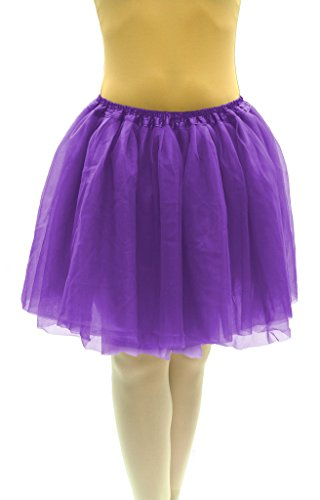 Dancina Tutu Women Classic 4 Layer Cute 5k 10k Fun Dash Run Cosplay Costume Regular Size 18
