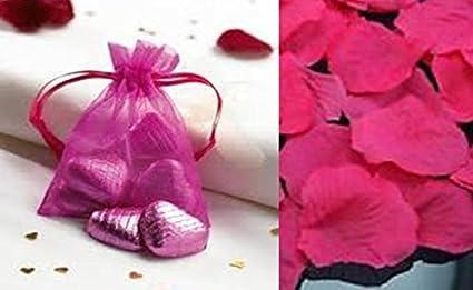 Lot 50 bolsas Organza joyas bolsas partido de boda 7 cm x 9 ...