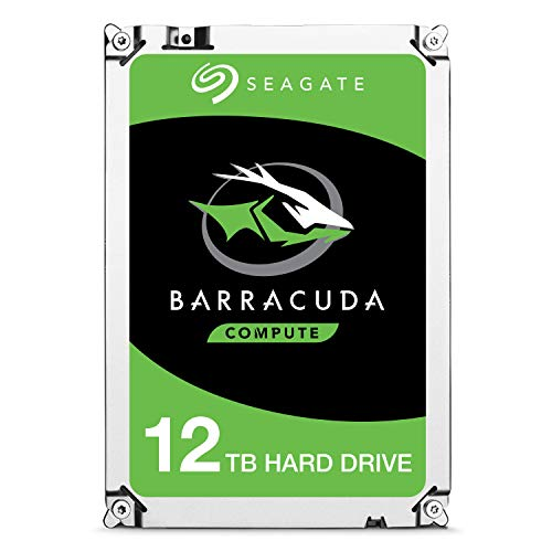 o Performance Internal Hard Drive SATA HDD 12TB 6GB/s 256MB Cache 3.5-Inch - Frustration Free Packaging (ST12000DM0007) ()
