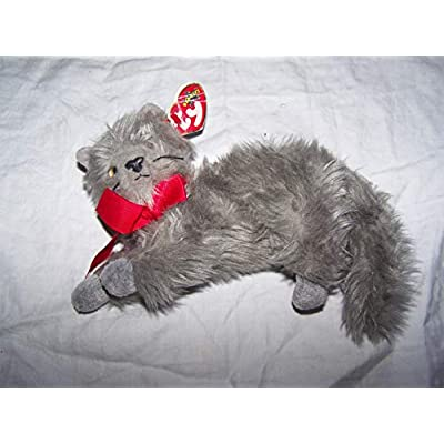 Ty Beanie Babies - Beani the Gray Cat: Toys & Games