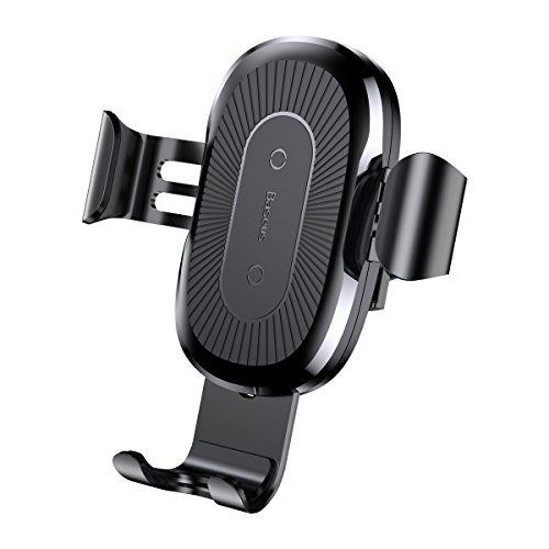 Fast Wireless Car Charger Fast Wireless Charger, Car Mount Air Vent Phone Holder Cradle for Samsung Galaxy Note 8/ S8/ S8+/ S7/ S6 Edge+/ Note 5, QI Wireless Standard Charge for iPhone 8/8 Plus/X