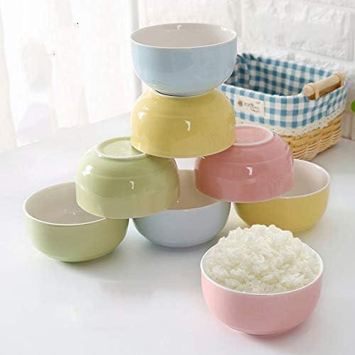 Ceramic bowl set home eating bowl Japanese rice bowl 4 set small dining ceramic bowl bone china soup bowl