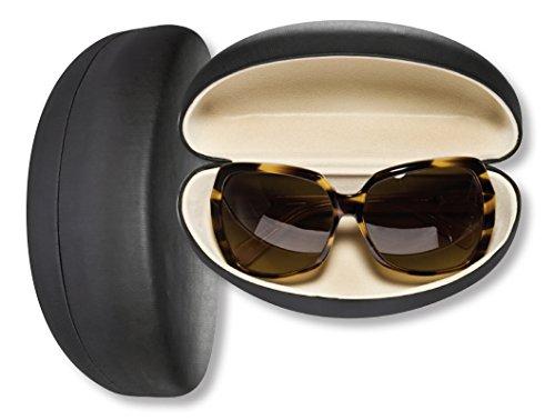 Oversized Sunglasses Case For Men & Women, Hard Shell Eyeglass Case In Smooth Matte - Case Glasses Strong