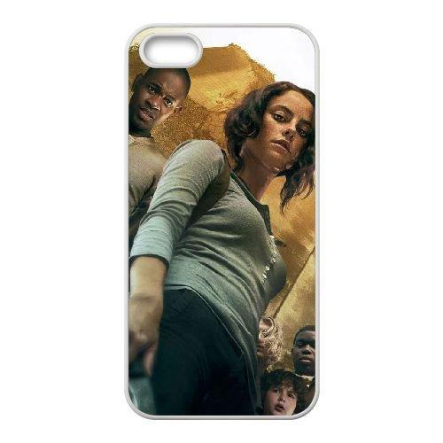 The Maze Runner 8 coque iPhone 4 4S cellulaire cas coque de téléphone cas blanche couverture de téléphone portable EOKXLLNCD20188