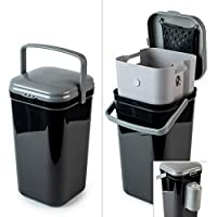 PetFusion Portable Outdoor Pet Waste Disposal. Innovative Dog Waste Station with Locking Handle, Universal Dog Poop Bag…