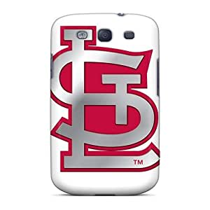Hot Tpu Covers Cases For Galaxy/ S3 Cases Covers Skin - St. Louis Cardinals