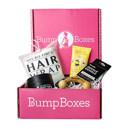 Bump Boxes 3rd Trimester Pregnancy Gift Box (Kit Essentials Pregnancy)