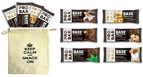 ProBar Base – Sampler Variety Pack – (Pack of 12), 2.46 Ounce