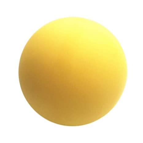 1 pelota de gimnasia de lacrosse para masaje de dolor, alivio del ...